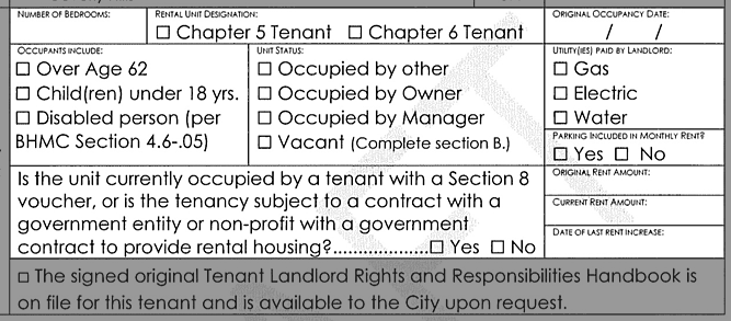 Registry form detali: tenant classes