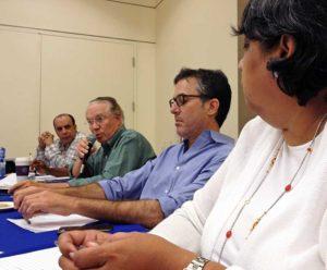 Chuck Moffit, tenants committee