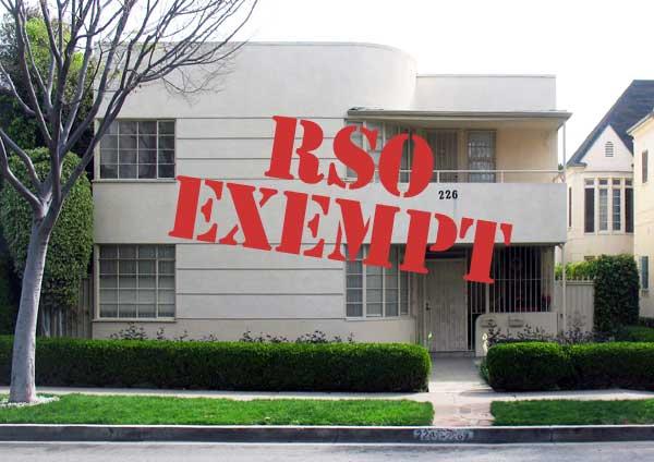 RSO exempt duplex