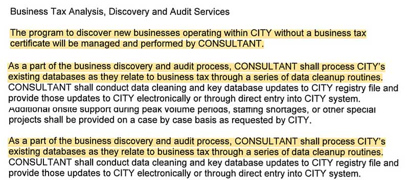 HDL contract discovery provisions
