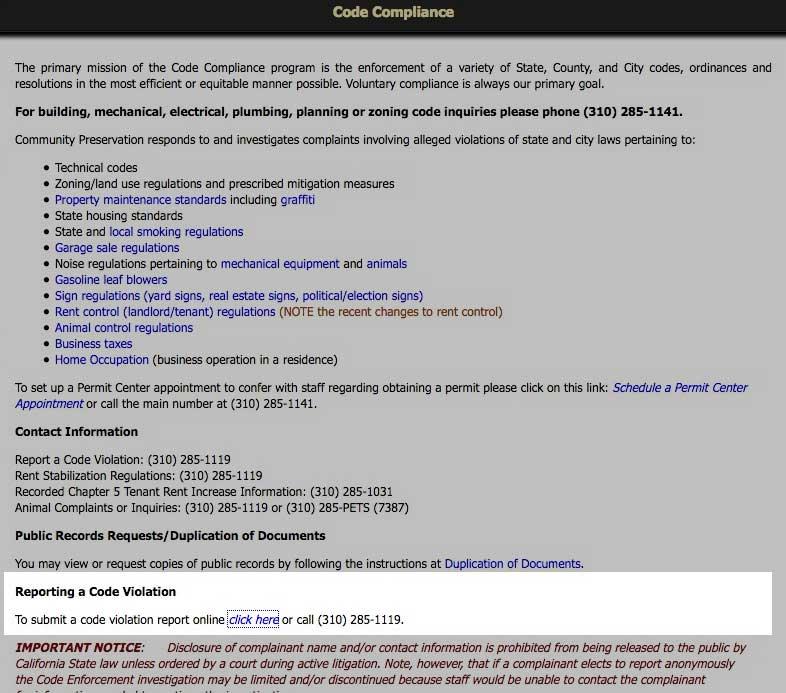 Community development code webpaage
