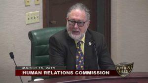 Human Relations Commissioner Gerald Friedman