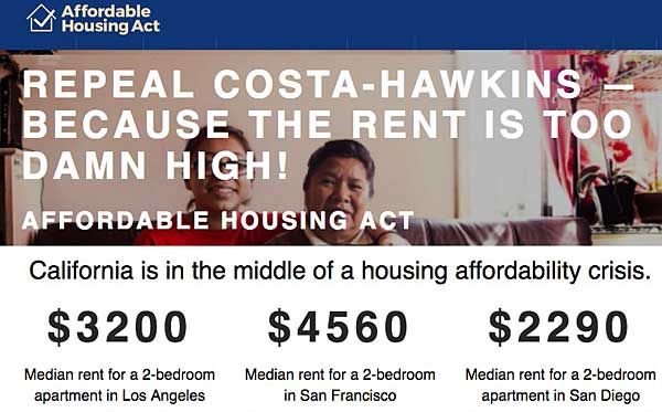 Affordable Housing Act initiative homepage