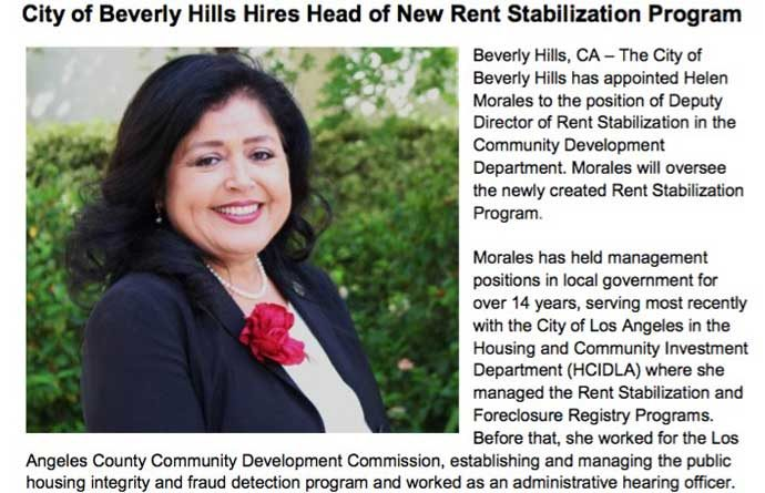 Helen Morales, new director