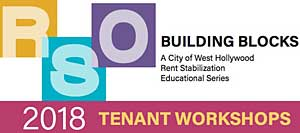 West Hollywood Building Blocks program logo
