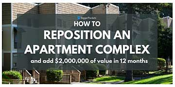 How to Reposition and apartment complex