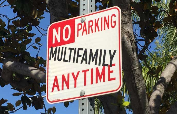 Canon homeowners: no parking for multifamily