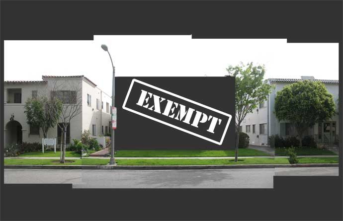 Duplexes exempt illustration