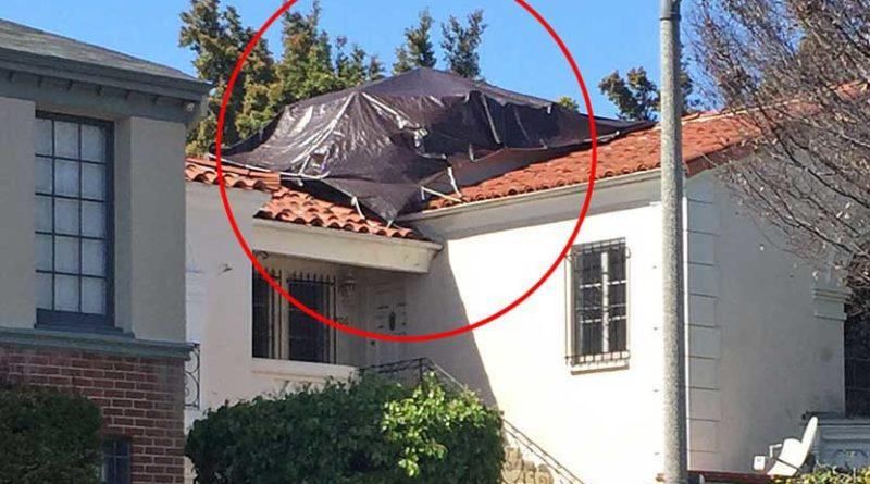 205 Reeves tarped roof