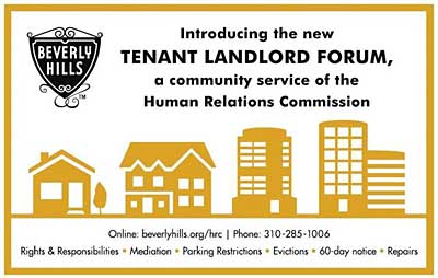 HRC Tenant Landlord Forum announcement
