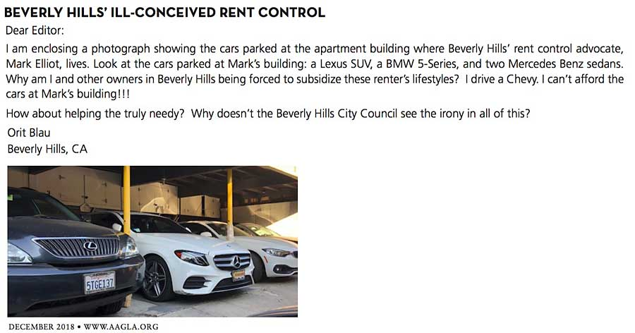 Orit blau letter to Apartment Age