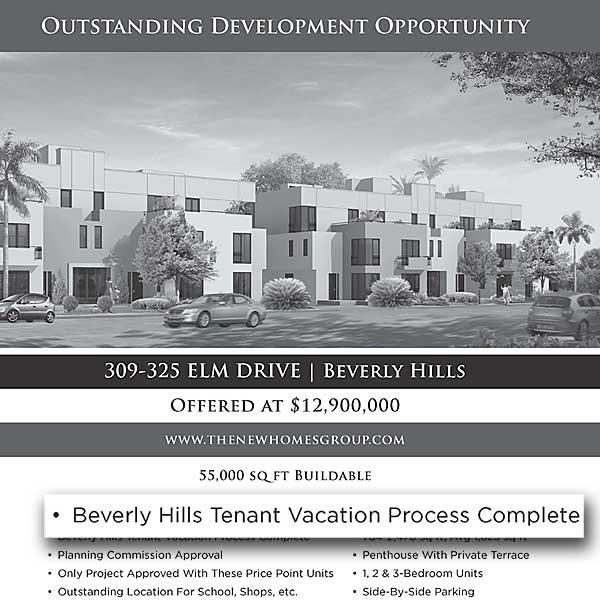 309-325 South Elm land offering