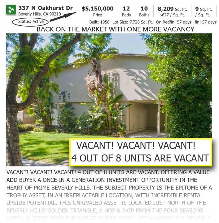 337 N Oakhurst active listing