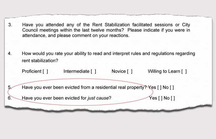 RSO commission application detail