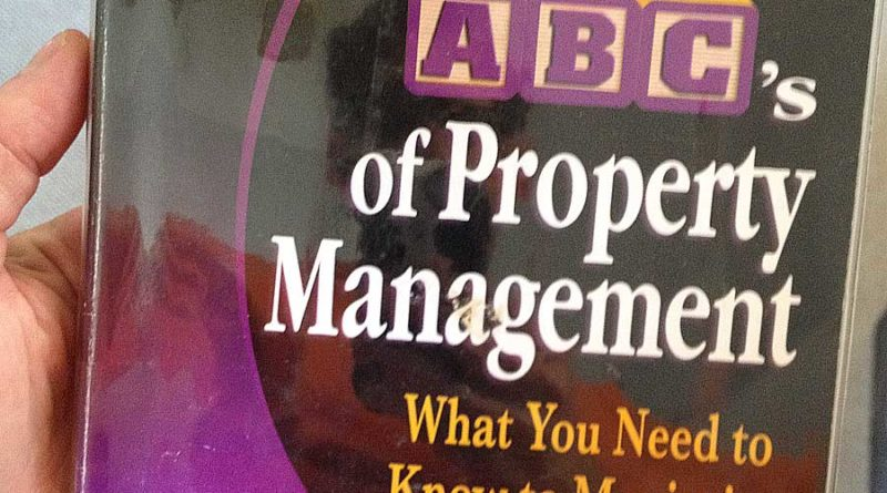 ABCs of Property Management book