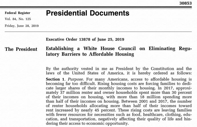 Executive Order 13878