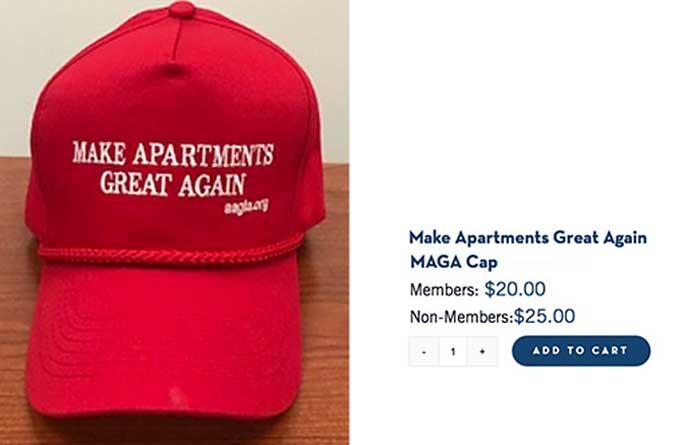 AAGLA #MAGA hat