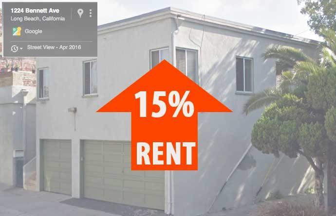 1224 Bennett rent up 15%
