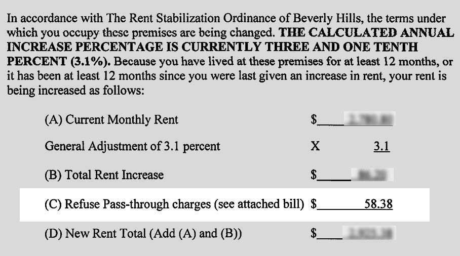 Refuse fee on rent Increase notice (redacted)