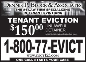 Dennis Block $150 UD ad