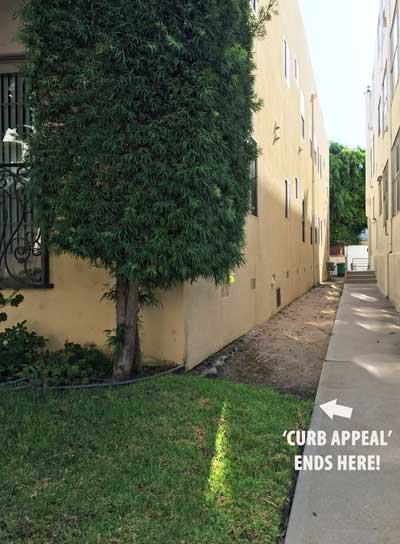 Where curb appeal ends