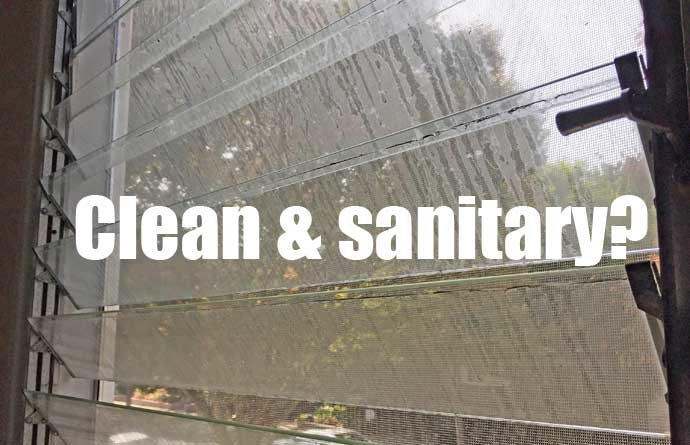 Clean and sanitary?