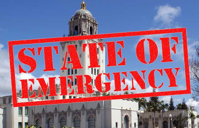 City hall emergency