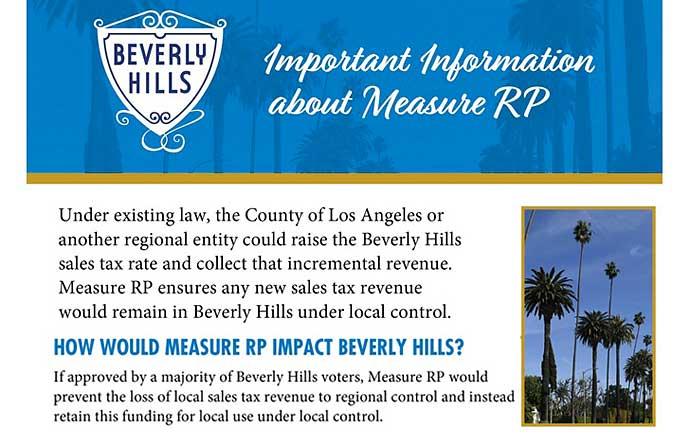 Measure RP info webpage