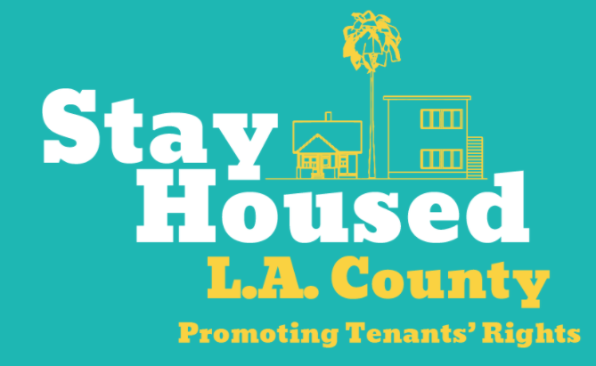 Los Angeles County Stay Housed logo