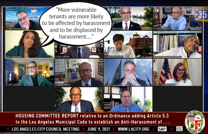 Los Angeles City Council passes anti-harassment ordinance