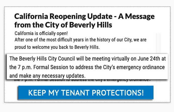 keep my tenant protections!