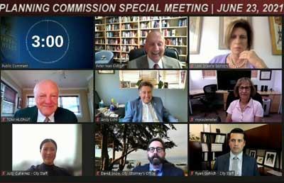 Planning Commisson June 23, 2021