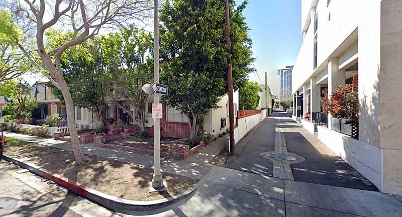 Sixty Hotel alley