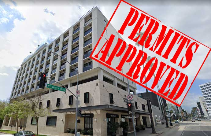 Sixty Hotel permits approved!